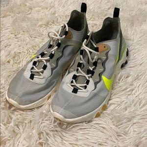 Nike React Element 55 'Cargo Volt' Authentic Shoes